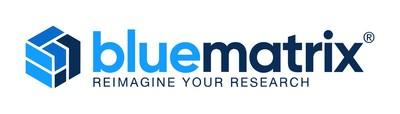 BlueMatrix launches a new corporate logo.