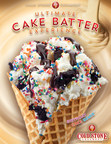 Cold Stone Creamery Offers the Ultimate Cake Batter Experience...