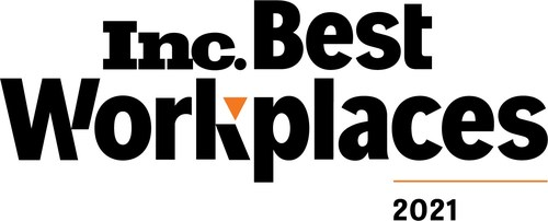 Seismic Digital has been named to Inc. magazine's annual list of the Best Workplaces for 2021.