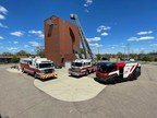 America's First Electric Fire Truck Visits Firefighters in South Bend, Indiana