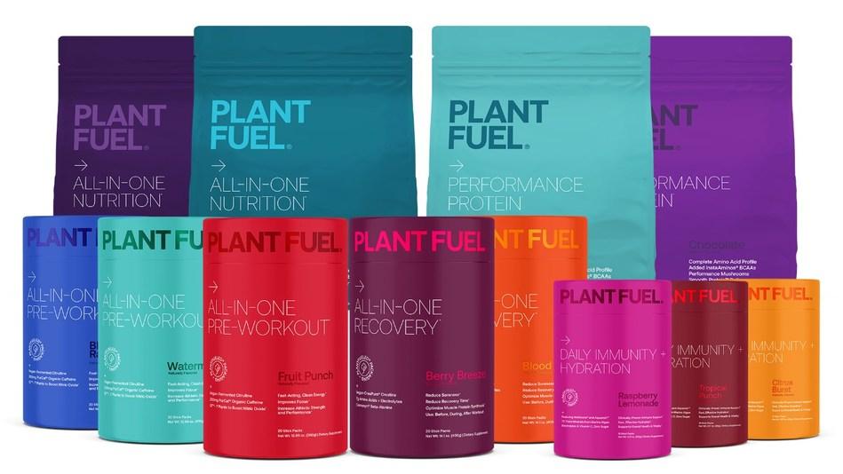 PlantFuel premium plant-based nutritional supplement brand