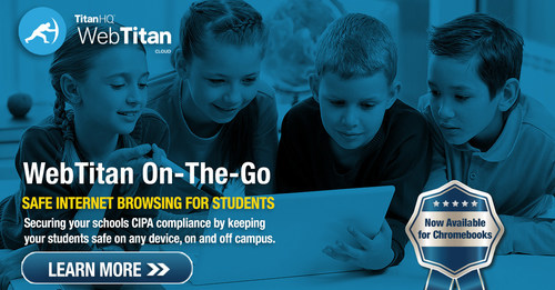 Using WebTitan OTG for Chromebooks provides an effective way to apply filtering policies to your Chromebooks from the cloud.