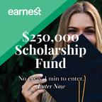 Deadline for Earnest Scholarship Only 6 Weeks Away...