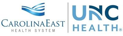 CarolinaEast Health and UNC Health Logo
