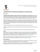 ShaMaran Reports KRG Proposed Amendments to Payment Terms (CNW Group/ShaMaran Petroleum Corp.)