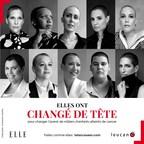 Les Audacieuses affichent leur tête rasée dans le magazine ELLE Québec