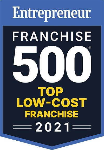 Entrepreneur Top Low-Cost Franchise 2021