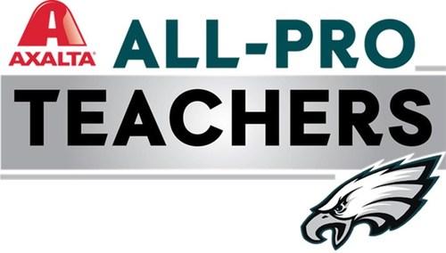 Axalta and the Philadelphia Eagles honor 10 Philadelphia-area teachers as part of its 2020 Axalta All-Pro Teacher program.