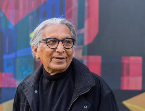 Renowned international architect, urban planner, educator, and Pritzker Architecture Prize Laureate Balkrishna Doshi