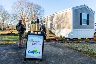 Clayton supports Family Promise's mission to eliminate family homelessness through prevention and diversion grants along with transitional home donations.