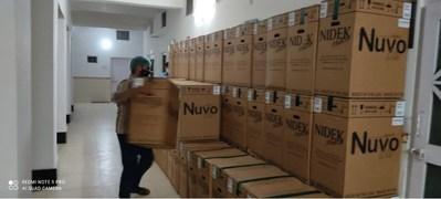 Oxygen Concentrators upon arrival at Delhi