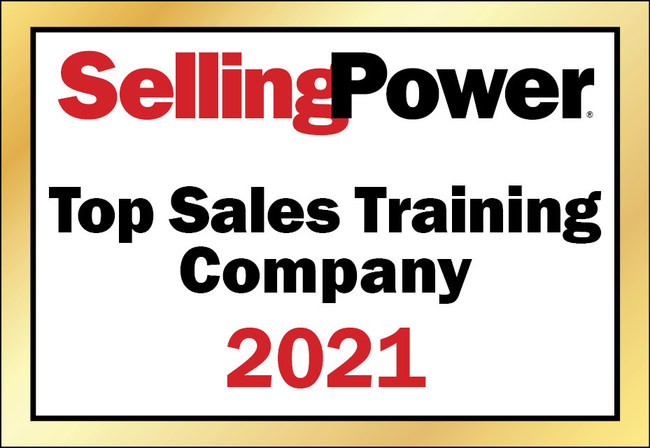 A Selling Power 2021 Top Sales Training Company