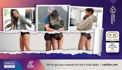 Confitex technology absorbent leakproof underwear PLUS X Award
