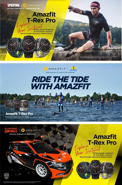 Amazfit, Explore Your Instinct with Sponsorships of Exciting Outdoor Sports