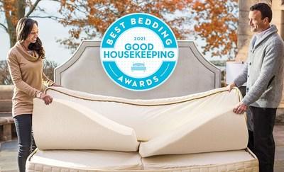 "Naturepedic's EOS® Pillowtop Organic Mattress receives Good Housekeeping 2021 Bedding Awards for ""Best Sustainable Mattress"""