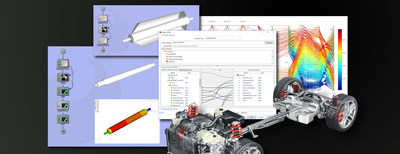 ModelCenter® is a software platform for creating and automating multi-tool workflows, optimizing product designs, and enabling Model Based Systems Engineering (MBSE).