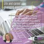 The AHRF Announces a Full-Ride Tech Scholarship from V School