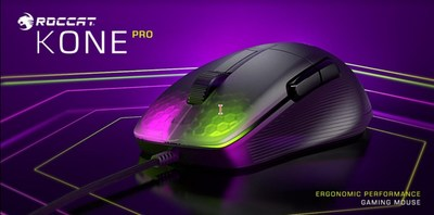 14+ Years in the Making, ROCCAT's Iconic Kone Pro and Kone Pro Air Competitive Gaming Mice Give PC Gamers the Latest, Most Responsive Tech, Including Titan Optical Switch, Titan Wheel Pro, and More