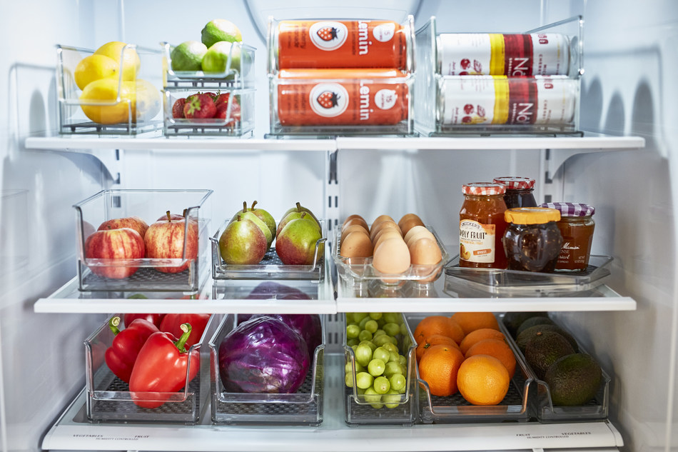 Spectrum Diversified Designs introduces its new collection of HEXA(tm) In-Fridge Organizers.
