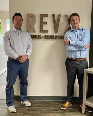 Bryan Cogliano, left, and Frank Hanna founded RevolutionX to serve high-net-worth individuals, executives and privately held business owners.