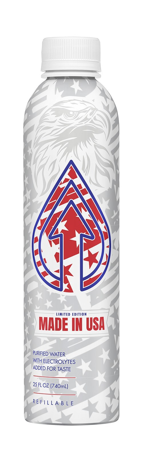Celebrating patriotism and sustainability, PATH is supporting Wounded Warrior Project by donating 10 cents from every refillable 'Made in the USA' bottled water sold with a minimum committment of $50k.