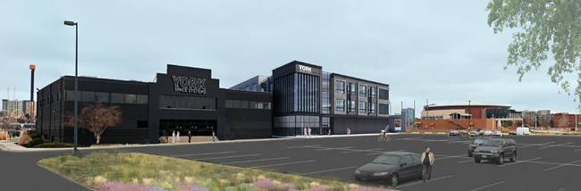 York Space System's new Mega Facility will deliver spacecraft in just days after a contract is awarded, at four times the scale previously possible.  - York Space System - York Space Systems Will Open New Mega Manufacturing Facility to Meet Accelerating Worldwide Customer Demand