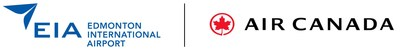 Edmonton Airports Authorit and Air Canada logos (CNW Group/Air Canada)