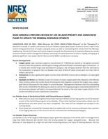 PDF Version (CNW Group/NGEx Minerals Ltd.)