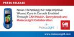 Neuartige Technologie zur Verbesserung der Wundversorgung in Kanada durch Zusammenarbeit von CAN Health, Sunnybrook und MolecuLight