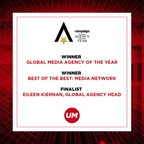 UM Named Campaign Global Media Agency of the Year...
