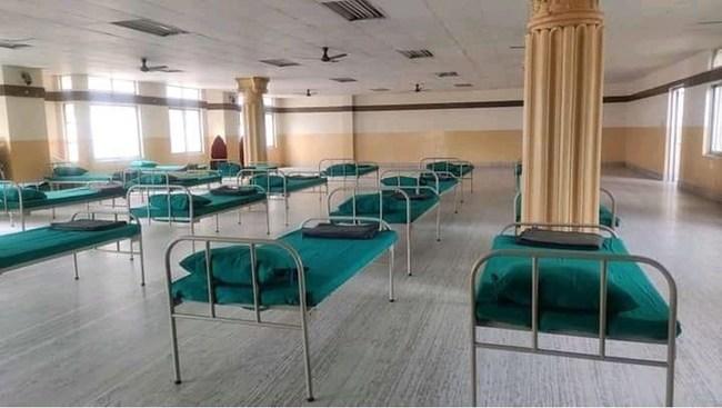 Sewa International's COVID Care Center at Aggrawal Kendra in Kathmandu, Nepal