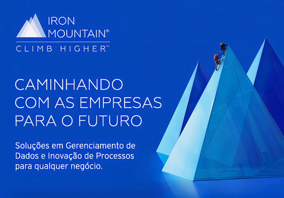 (PRNewsfoto/Iron Mountain)