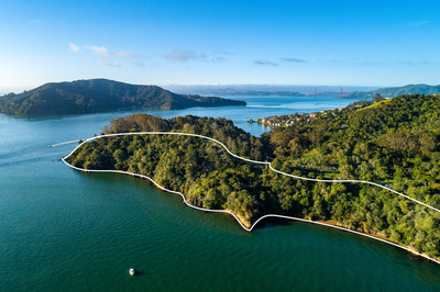 Located outside San Francisco on California's Tiburon peninsula, this 14.5-acre estate site with 2,000 feet of frontage on the glistening San Francisco Bay will be sold at luxury auction on May 21, 2021. Platinum Luxury Auctions is managing the sale with listing brokerage Golden Gate Sotheby's International Realty. The property has previously been listed for $47 million but will be sold at auction to the highest bidder without reserve. Learn more at TiburonLuxuryAuction.com.