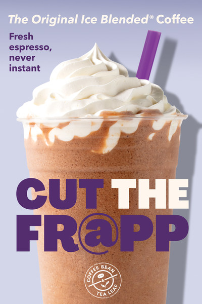 The Coffee Bean & Teal Leaf Invites Guests to Cup the Fr@pp this Summer and Enjoy a Real Ice Blended® Coffee drink