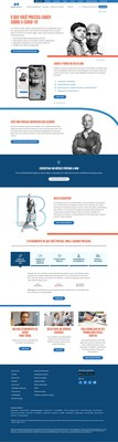 Blue Cross Blue Shield of Massachusetts website shown translated in Portuguese