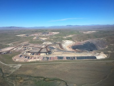 South Arturo Mine (CNW Group/i-80 Gold Corp)