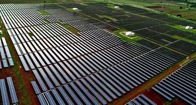 SB Energy Solar Plant