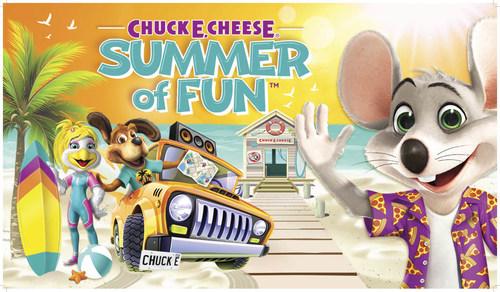 Chuck E. Cheese Summer of Fun