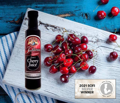 Tabletree Montana Wins Silver in sofi™ Awards with Tabletree Cherry Juice.