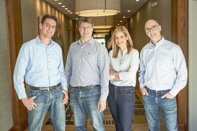 Sunbit's founding team (from l to r): Arad Levertov, Co-founder and CEO; Tal Riesenfeld, Co-founder and Head of Sales; Ornit Maizel, Co-founder and CTO; and Tamir Hazan, Ph.D., Co-founder and Head of Analytics.