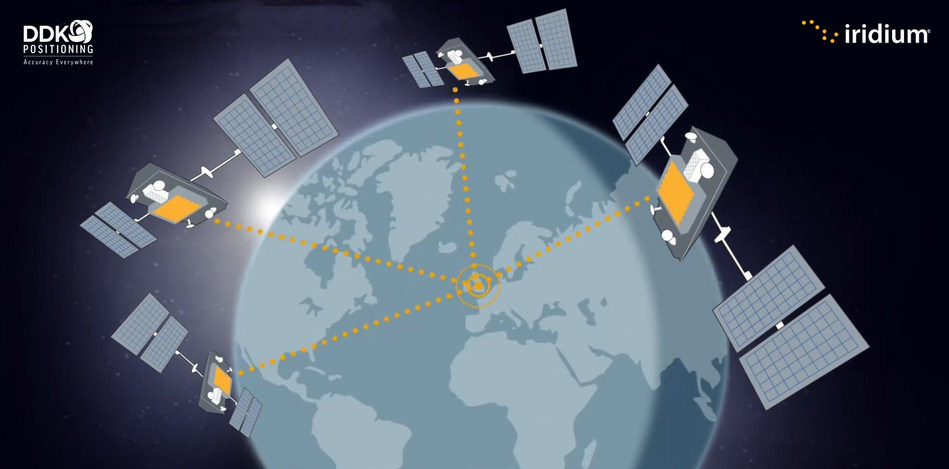 Through the Iridium satellite network, DDK Positioning delivers high precision GPS accuracy of within 5 centimeters, while standard GPS accuracy is within 10 meters.