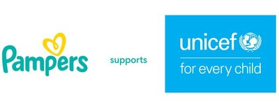 Pampers and UNICEF Logo (PRNewsfoto/UNICEF,Pampers)
