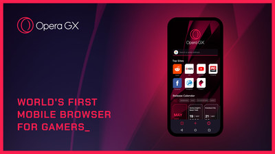 Opera GX is the world's first mobile browser for gamers