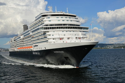 Holland America Line's Koningsdam. October 2021 through April 2022, Koningsdam will homeport out of San Diego for a season of cruises to Hawaii, Mexico, the Pacific Coast, Panama Canal and South Pacific.