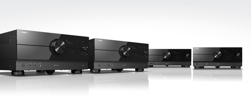 Yamaha Defines the Future of Home Entertainment with New Series of Cutting-edge AVENTAGE AV Receivers