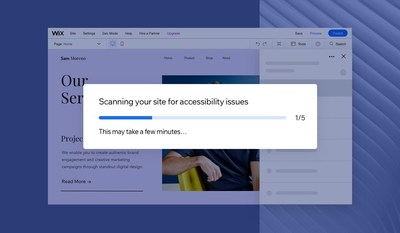 Wix Launches First of Its Kind Accessibility Tool to Help Make The Web Accessible for Everyone