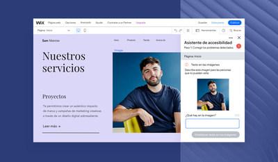 O Wix Lança A Primeira Ferramenta de Acessibilidade para Ajudar a Tornar a Web Acessível para Todos