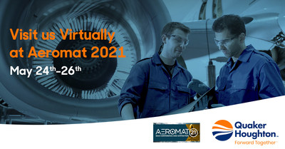 Visit Quaker Houghton virtually at Aeromat 2021