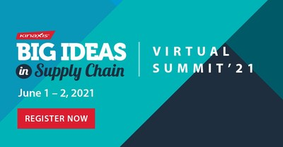 Big Ideas in Supply Chain Summit - June 1-2, 2021 (CNW Group/Kinaxis Inc.)