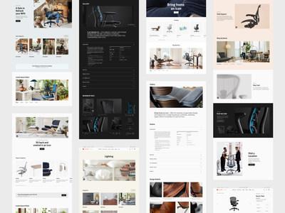 Herman Miller introduces redesigned retail website
